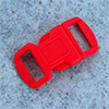 click buckle red, 30 x 15 mm, 1 pc.