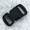 click buckle black, 30 x 15 mm, 1 pc.