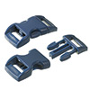 click buckle blue, 14mm, 1 pc.