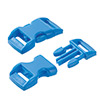 click buckle light blue, 14mm, 1 pc.