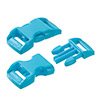 click buckle light turquoise, 20mm, 1 pc.