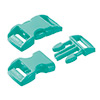 click buckle mint green, 20mm, 1 pc.