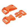 click buckle orange, 20mm, 1 pc.