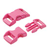 click buckle pink, 20mm, 1 pc.