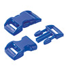 click buckle royal blue, 14mm, 1 pc.