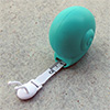 "measuring tape ""snail"" turquoise, 1m"