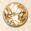 Swarovski PRESETTING Silver 925, Topaz honey 3,0mm, 1 pc.