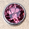 Swarovski PRESETTING Silver 925, Rodolith rapsberry 3,0mm, 1 pc.