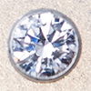 Swarovski PRESETTING Silver 925, CZ white 2,0mm, 1 pc.