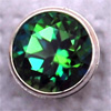 Swarovski PRESETTING Silver 925, Topaz rainforest 2,0mm, 1 pc.