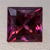 Swarovski Zirconia red TCF™ Square Princess 5x5mm, 1 pc.