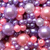 wax beads mixed violet 50g